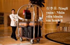 tu vung tieng trung du lich: nhan van khuan vac hanh li