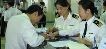Học tiếng Trung theo chủ đề (9): khai báo hải quan