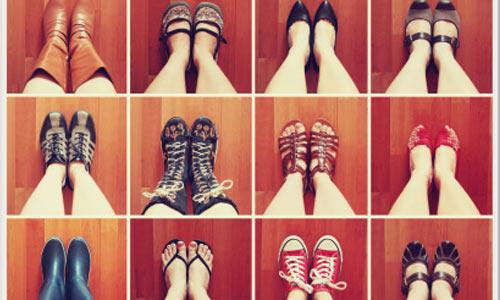 học từ vựng về giày dép