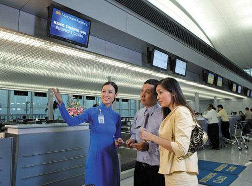 mẫu câu khi làm thủ tục tại sân bay, ga tàu trong tiếng trung