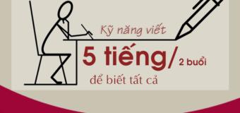 [HCM] Khóa học HOÀN TOÀN MIỄN PHÍ về kỹ năng viết thi HSK 5