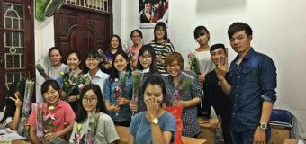 Sự kiện chào mừng 20/10 tại THANHMAIHSK cơ sở Hà Nội