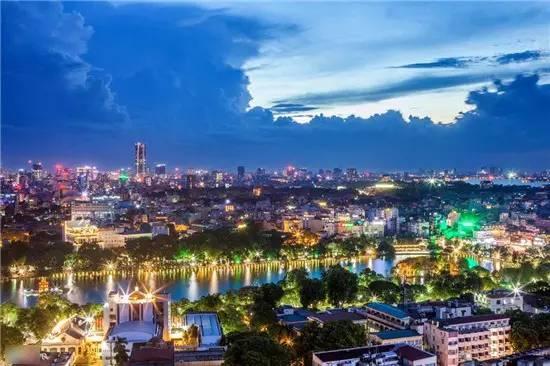Cùng chiêm ngưỡng Hà Nội đẹp nhất về đêm