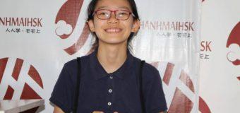 """Động lực """"đáng yêu"""" của học viên HSK 6 nhỏ tuổi nhất THANHMAIHSK"""