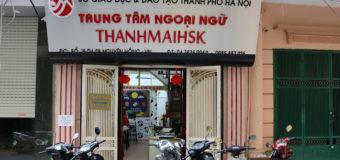 THANHMAIHSK – Trung tâm tiếng trung uy tín