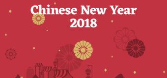 Hình ảnh chúc mừng năm mới bằng tiếng Trung đẹp