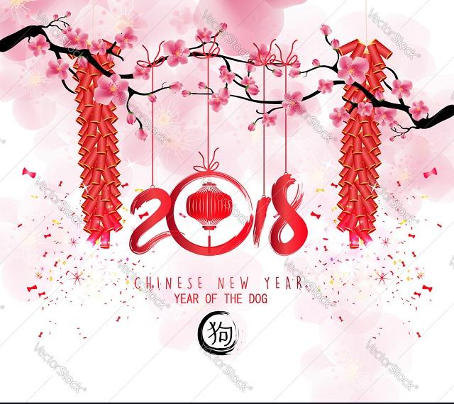 Hình ảnh chúc mừng năm mới bằng tiếng Trung 8