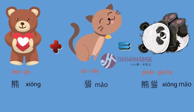 Hình ảnh Học từ vựng tiếng Trung qua hình ảnh dễ học nhớ lâu 11