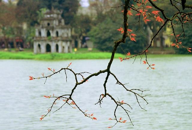 Hình ảnh Văn mẫu: Viết về thời tiết Hà Nội bằng tiếng Trung 2