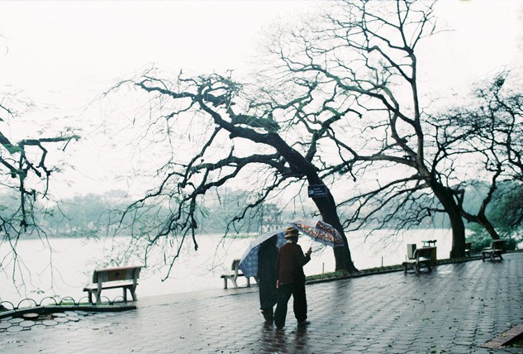 Hình ảnh Văn mẫu: Viết về thời tiết Hà Nội bằng tiếng Trung 4