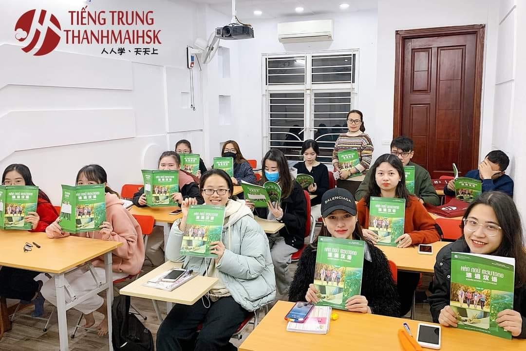 Hình ảnh các khóa học tiếng Trung tại THANHMAIHSK