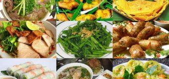 Giới thiệu món ăn Việt Nam bằng tiếng Trung