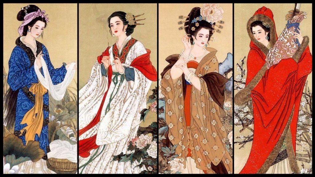 Hình ảnh Tuyển tập thơ Trung Quốc về người con gái 1