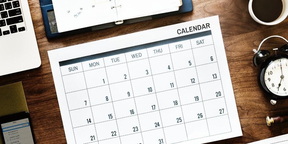 Hình ảnh Đàm thoại tiếng Trung theo chủ đề 4: Ngày tháng năm