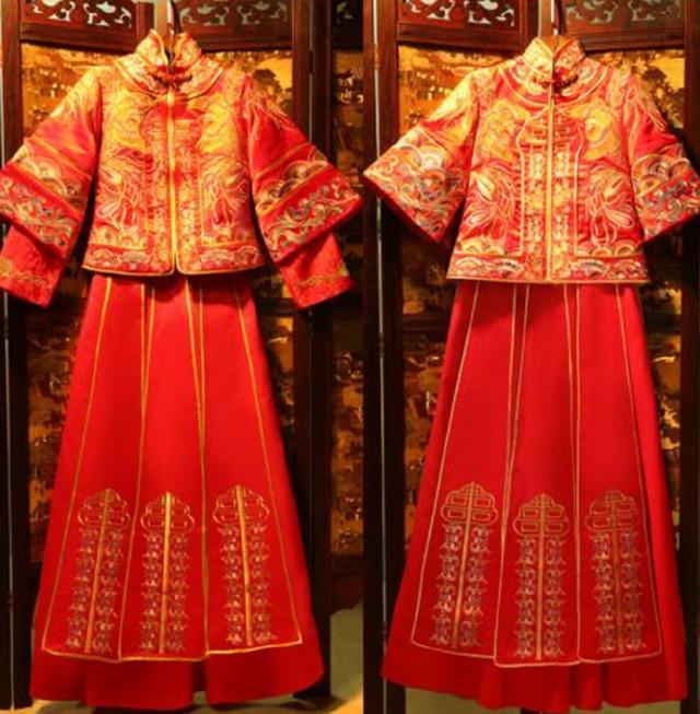 Hình ảnh Áo cưới truyền thống của Trung Quốc các thời kỳ 3