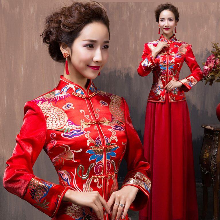 Hình ảnh Áo cưới truyền thống của Trung Quốc các thời kỳ 5