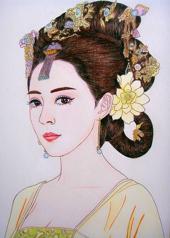 Hình ảnh Các vị công chúa Trung Quốc cổ đại nổi tiếng và xinh đẹp nhất 2