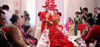 Văn mẫu: miêu tả đám cưới bằng tiếng Trung