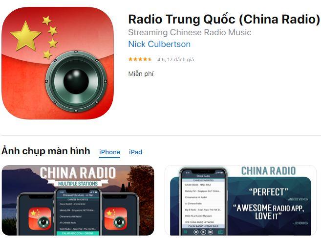 Hình ảnh Luyện nghe tiếng Trung radio qua các app trên điện thoại 1