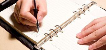 Hướng dẫn cách viết nhật ký bằng tiếng Trung