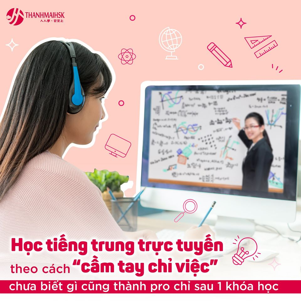 Hình ảnh Học tiếng Trung trực tuyến tại THANHMAIHSK