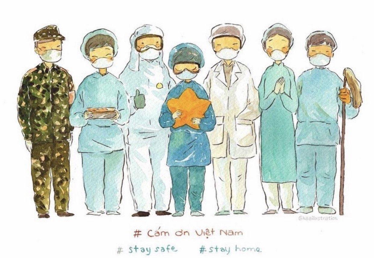 Hình ảnh Từ vựng tiếng Trung về dịch bệnh SARS-COV-2