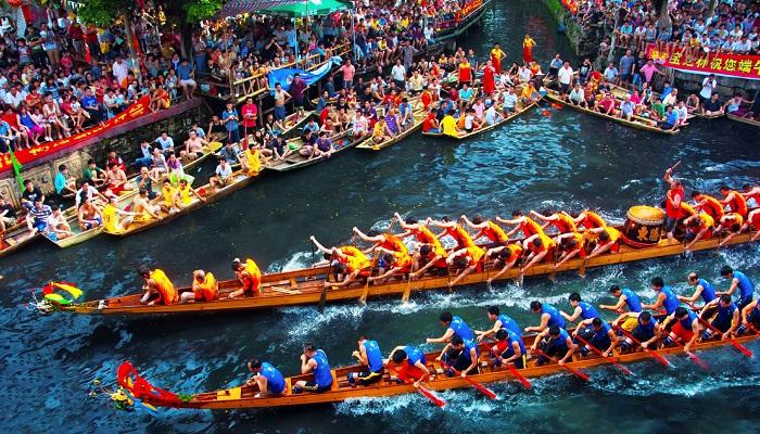 Hình ảnh Lễ hội thuyền rồng Trung Quốc